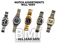 MEN'S DELUXE METAL WATCH ASSORTMENT