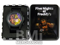 FIVE NIGHTS AT FREDDY'S WATCH IN TIN GIFT BOX
