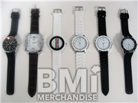 MEN'S TRENDY WATCH ASST. - 6 PC