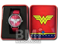 WONDER WOMAN  WATCH IN TIN GIFT BOX