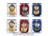 WHISTLE STOP POCKET WATCH MIX - 12 PC