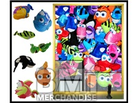 48PC 12IN JUMBO UNDER THE SEA PLUSH CRANE KIT