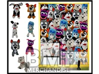 48PC 11-14IN JUMBO PLUSH DOG CRANE KIT